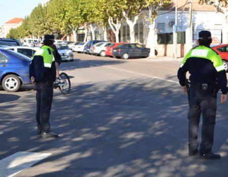 Suspensión temporal de las pruebas a policía local