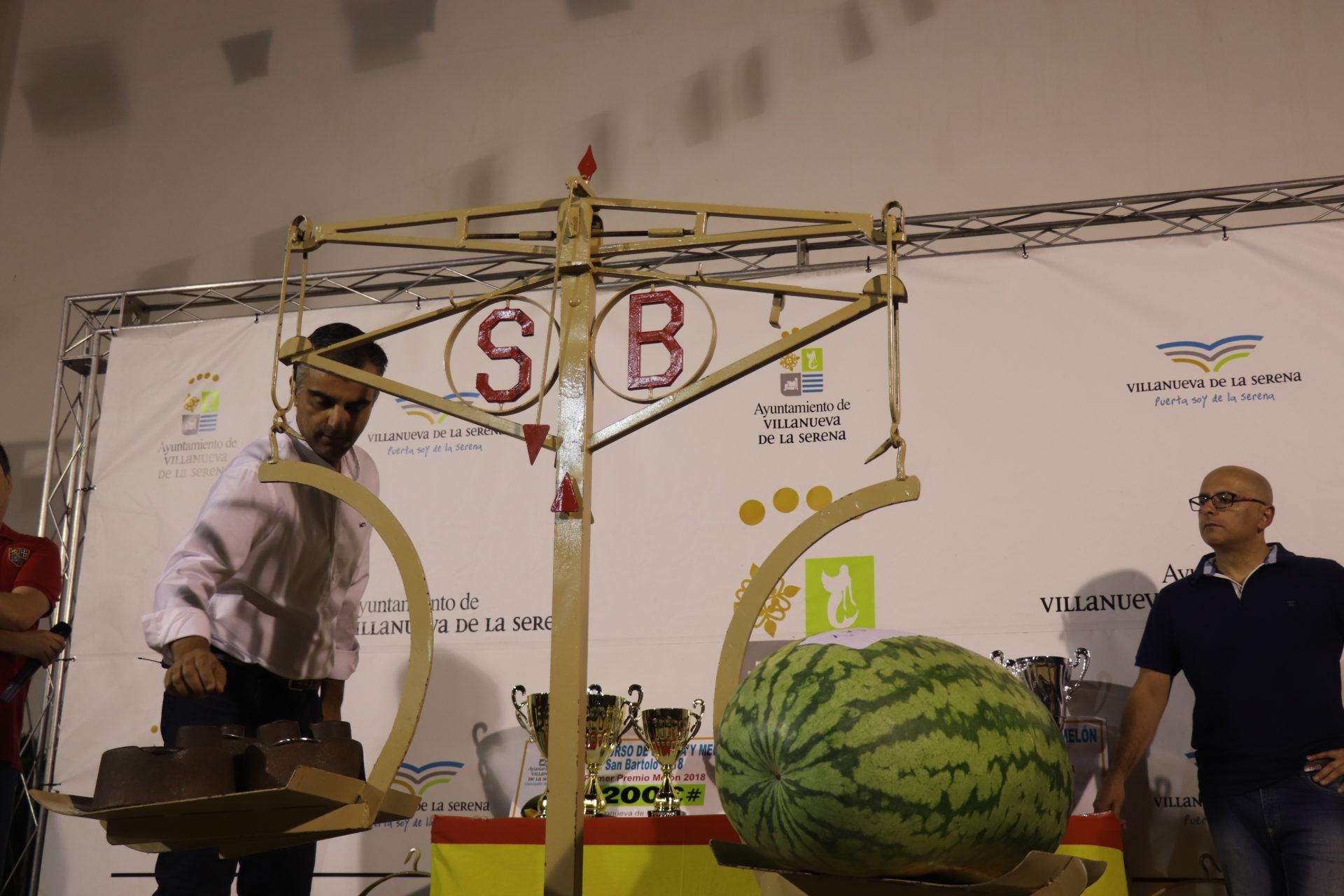 Los frutos mayores de 50 kg en sandía y 15 kg en melón, tendrán dotación económica en el 58 Concurso de Sandía y Melón Rufino Pineda Mendoza