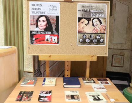Ángeles Mastretta, autora del mes de septiembre