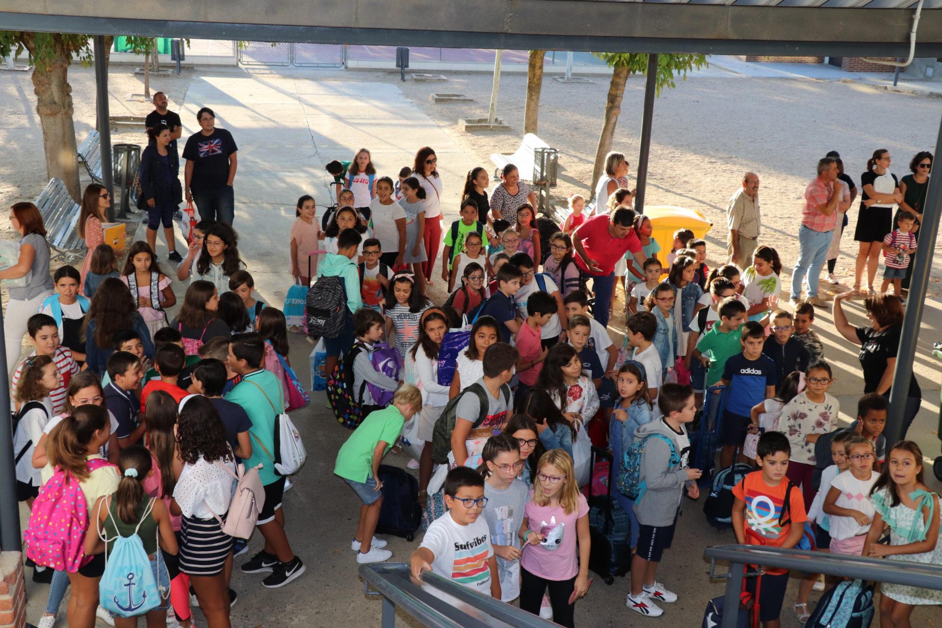 Un total de 3.157 alumnos inician el curso escolar 2019-2020