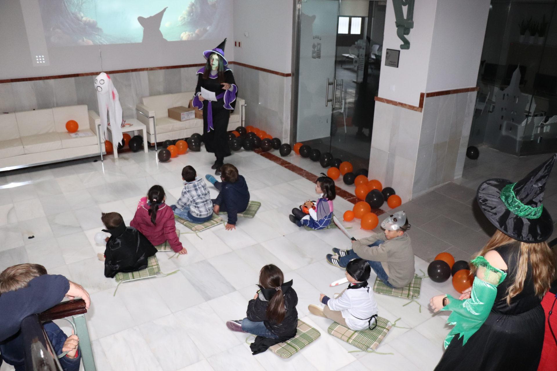 Pasacalles, cuentacuentos infantiles, escape room y otras actividades en la fiesta Halloween