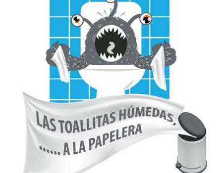 """El Ayuntamiento se suma a la campaña """"No alimentes al monstruo de las cloacas"""""""
