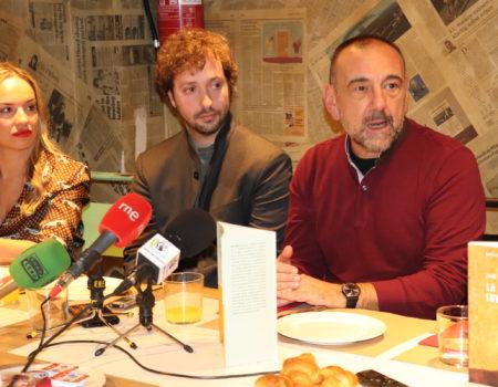 Jordi Juan Martínez y Rui Díaz Correia presentan en Madrid sus obras ganadoras en el 38 Premio Felipe Trigo