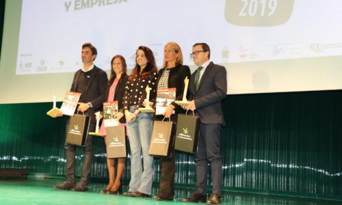 """Guadalupe Porras Ayuso, Ana Belén Rey Acuña y Movistar Team Femenino, galardonadas en los V Premios """"Deporte, Igualdad y Empresa"""""""