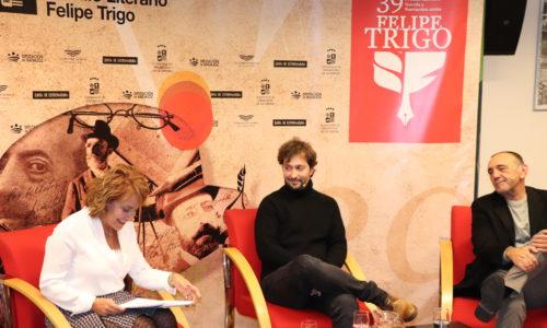 Jordi Juan Martínez y Rui Díaz, destacan la transparencia, independencia e igualdad de oportunidades que ofrece el Premio Felipe Trigo