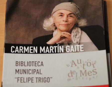 Carmen Martín Gaite, autora del mes de enero en la Biblioteca Felipe Trigo