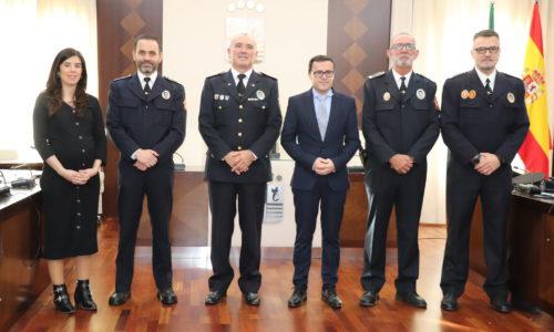 Raúl Díaz Tapia y Juan Pedro Urán González, nuevos subinspectores de la Policía Local