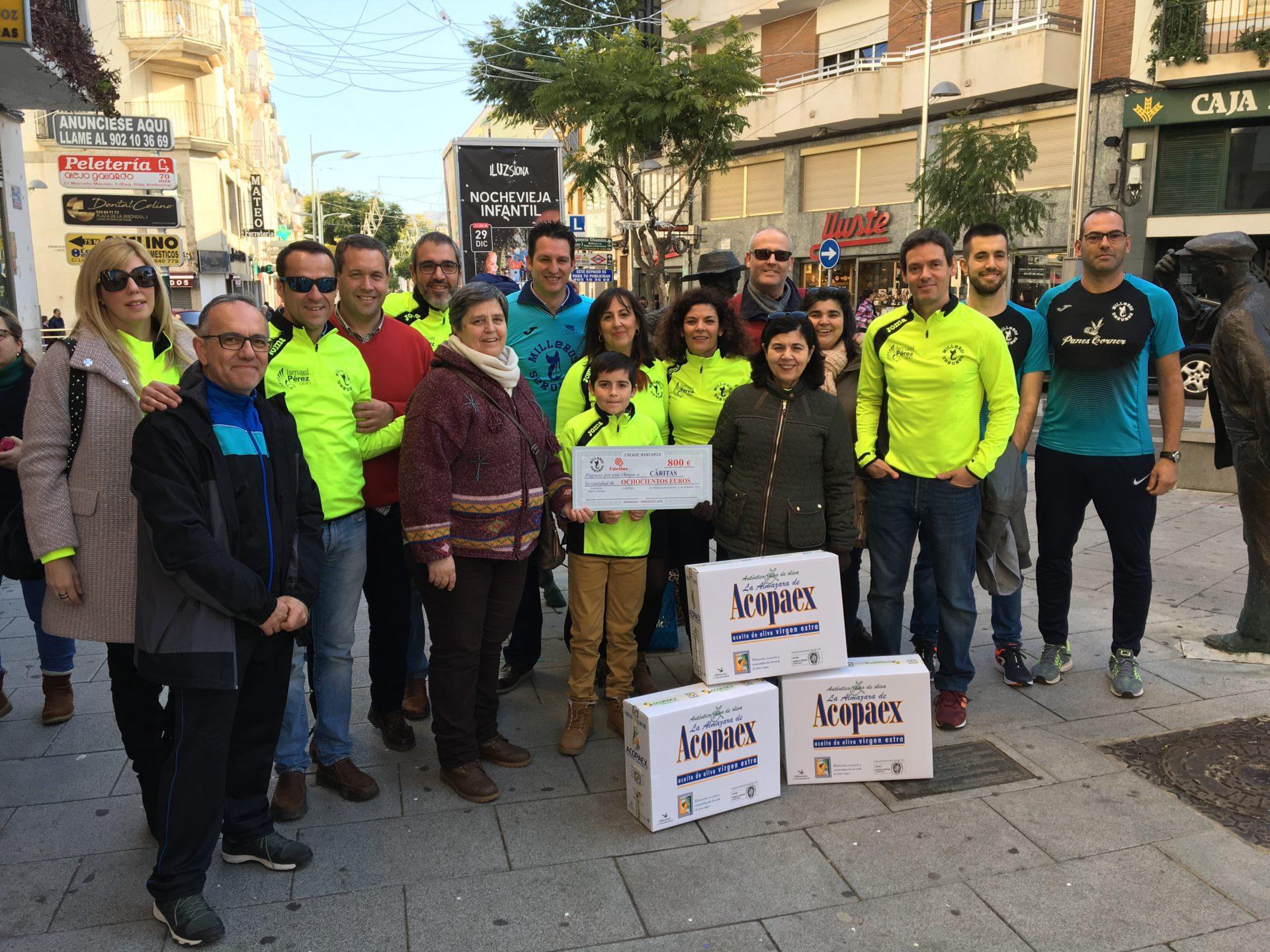 Milleros Serones dona 1.200 euros a distintos colectivos