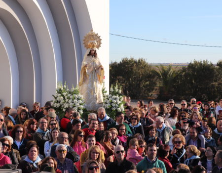La traída de la Virgen de la Aurora a la ciudad será el 25 de enero