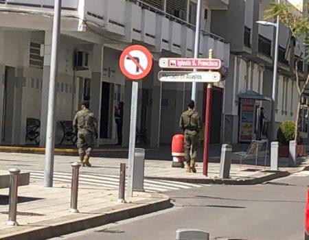 16 efectivos de la Brigada Extremadura XI realizan diferentes labores de apoyo