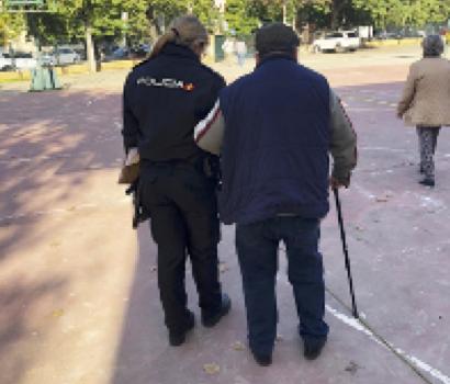 La Policía Nacional da recomendaciones de seguridad para personas mayores en el Estado de Alarma
