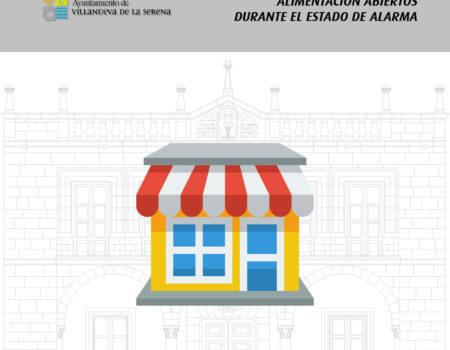 Establecimientos de alimentación que mantienen sus puertas abiertas durante el #EstadoDeAlarma