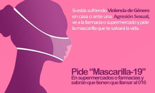 'Mascarilla-19', el código clave para proteger a las mujeres víctimas de la violencia machista