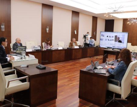 La Corporación Municipal celebra el primer pleno ordinario tras el decreto del Estado de Alarma