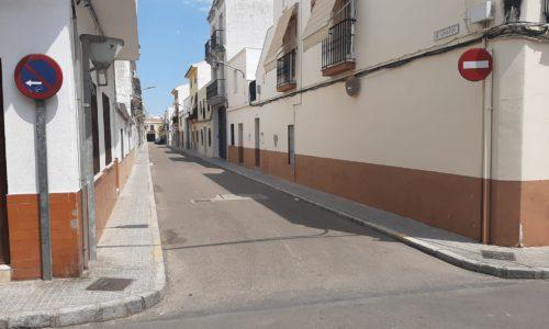 Cambia el sentido de la circulación de la calle Unión por las obras de la calle Herrera