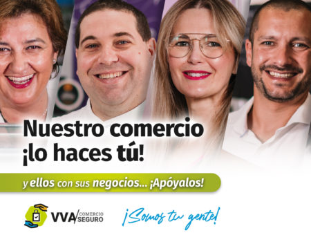 """El Ayuntamiento de Villanueva de la Serena lanza la campaña """"Villanueva Comercio Seguro""""."""