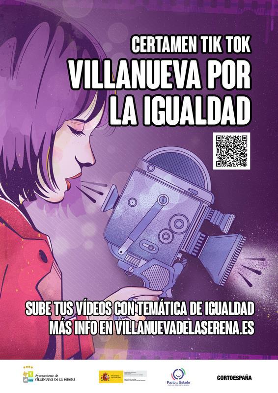 """Los jóvenes podrán participar en el concurso """"Villanueva por la igualdad"""""""