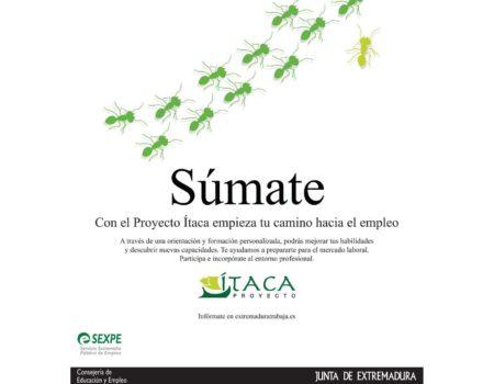 Hasta el próximo 5 de octubre está abierto el plazo de matrícula del Proyecto Ítaca