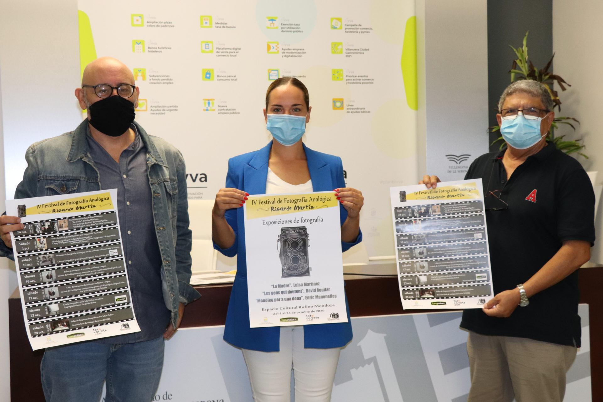 Talleres, exposiciones, charlas entre otras actividades en el IV Festival de Fotografía Analógica Ricardo Martín
