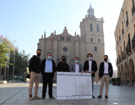 El próximo día 15 comienzan las obras de restauración de la espadaña y la fachada principal de la parroquia de Nuestra Señora de la Asunción