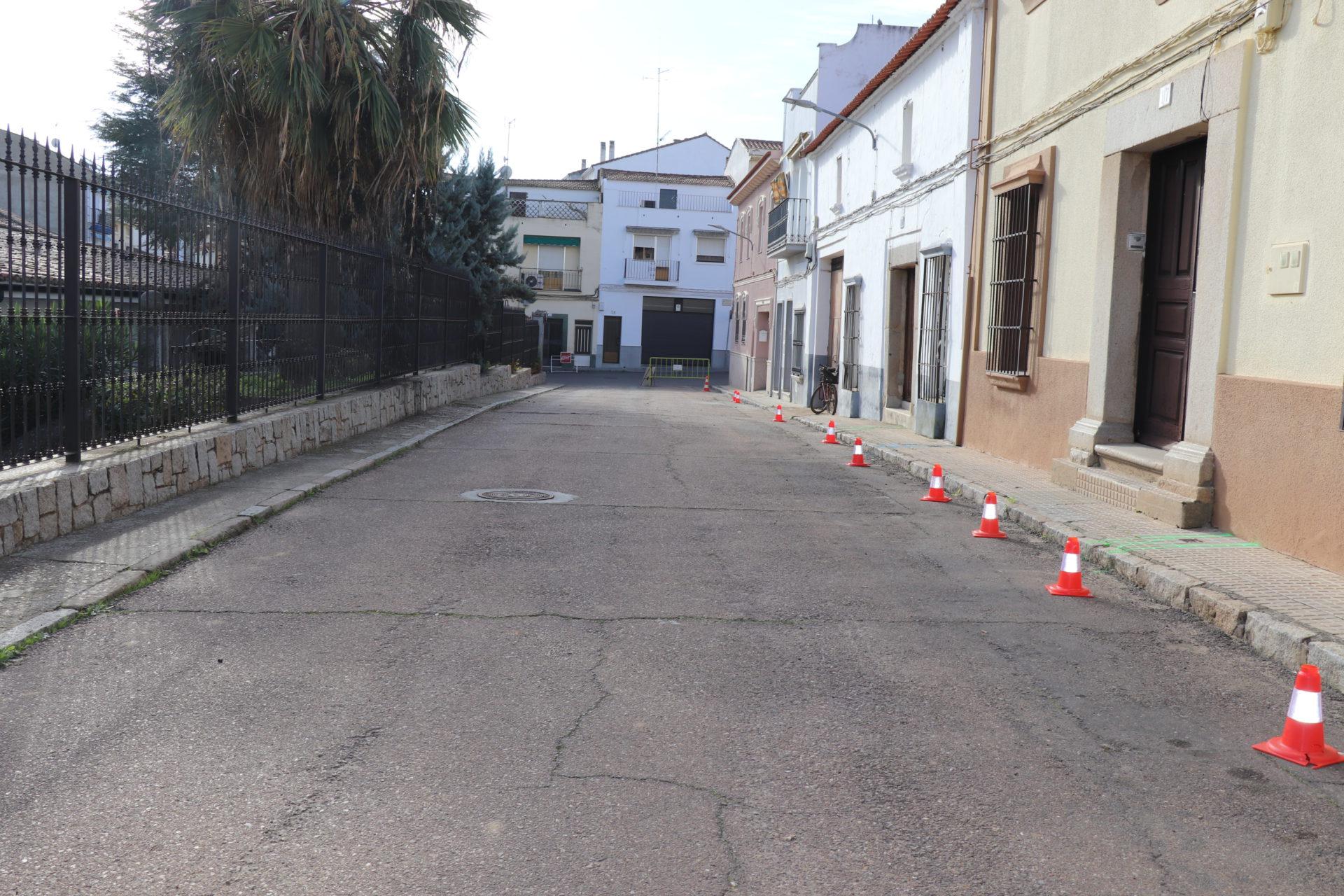 Comienzan las obras de urbanización de la calle Barranco