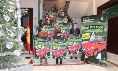 """Un coche es el regalo de la campaña del comercio local """"Esta Navidad te regalamos las estrellas"""""""