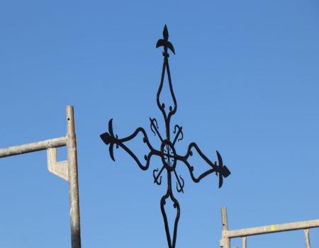 Se ubica la Cruz de la Parroquia de la Asunción