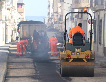 Este año se invertirán más de 200.000 euros en el asfaltado de varias calles