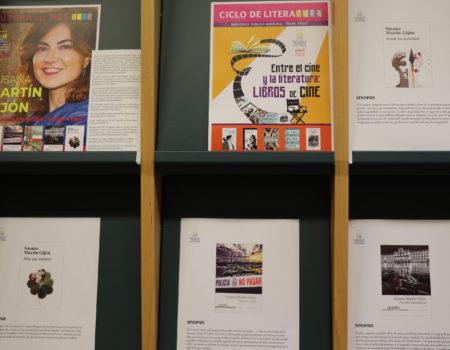 Susana Martín Gijón es la autora del mes de abril en la biblioteca Felipe Trigo