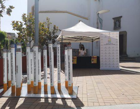 Mesas informativas con motivo del Día Mundial Sin Tabaco