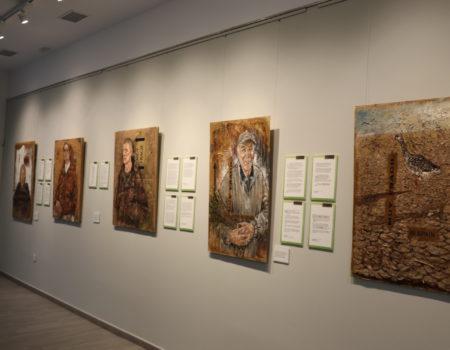 El artista Damián Retamar plasma en una exposición la fragilidad del ser humano y de la naturaleza