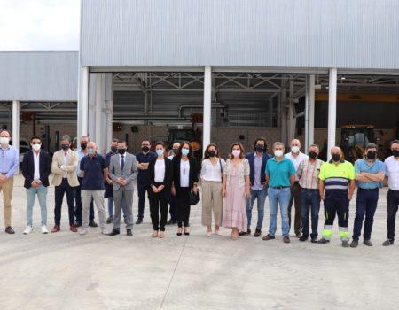 Promedio y el área de Fomento de Diputación abren sus nuevas instalaciones en el polígono Montepozuelo