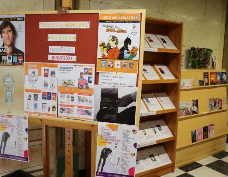 Se incorporan nuevos títulos en la biblioteca Felipe Trigo