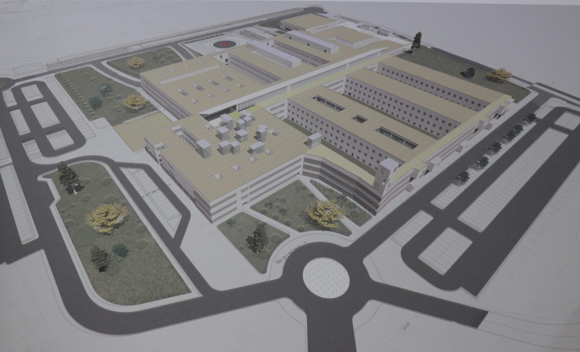 Este jueves 22, se firma el acta de replanteo de las obras del nuevo hospital Don Benito-Villanueva