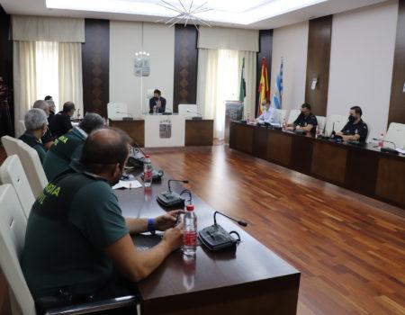 La mesa de coordinación policial de las fiestas patronales, se reúne para coordinar el trabajo de seguridad vial y ciudadana