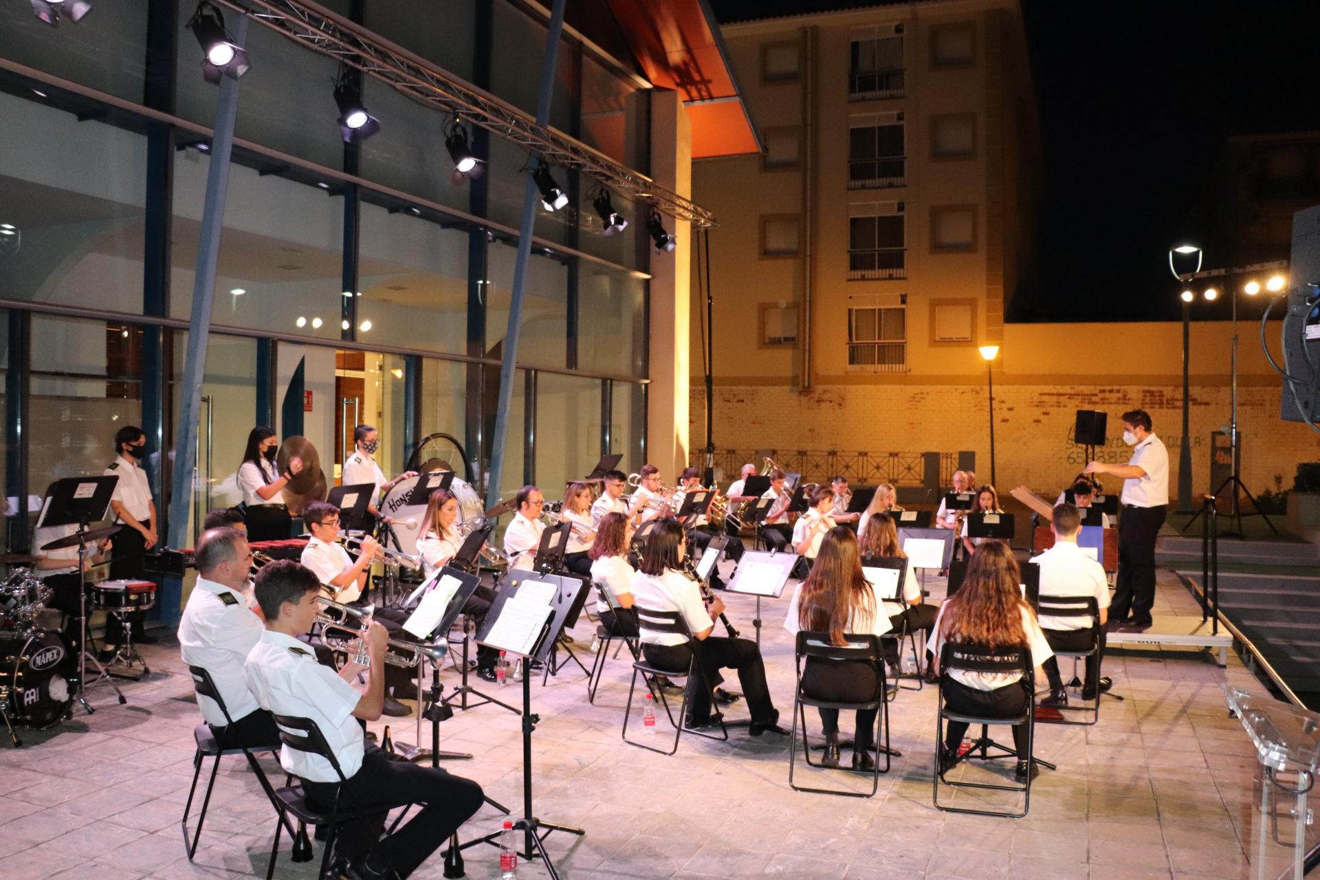 La Banda Municipal de Música retoma sus actuaciones con el concierto de verano