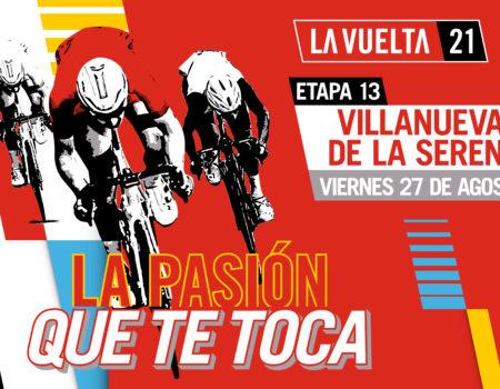 #LaVuelta21 a tan solo 15 días de finalizar la etapa número 13 en Villanueva de la Serena
