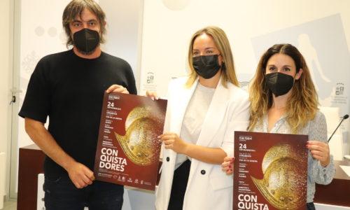 """El espectáculo """"Conquistadores"""" abre la temporada de artes escénicas en el Palacio de Congresos"""